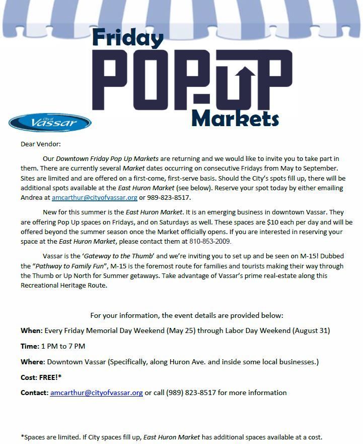 Pop Up Market 2018 Clip