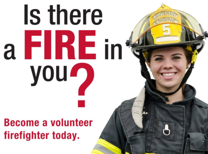 Image result for volunteer fire recruitment